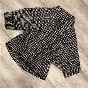 ZARA sweater shawl